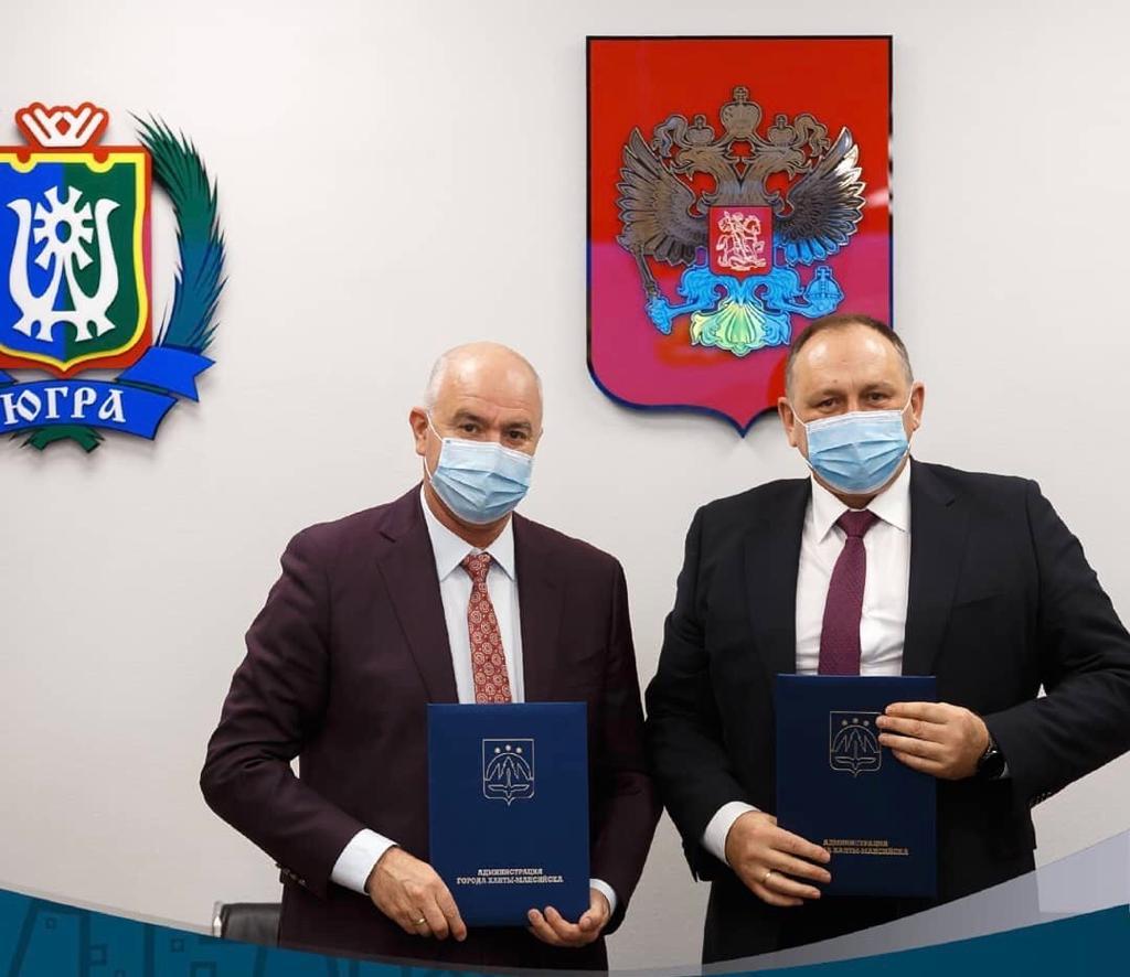 Главы Новороссийска и Ханты-Мансийска подписали соглашение о сотрудничестве