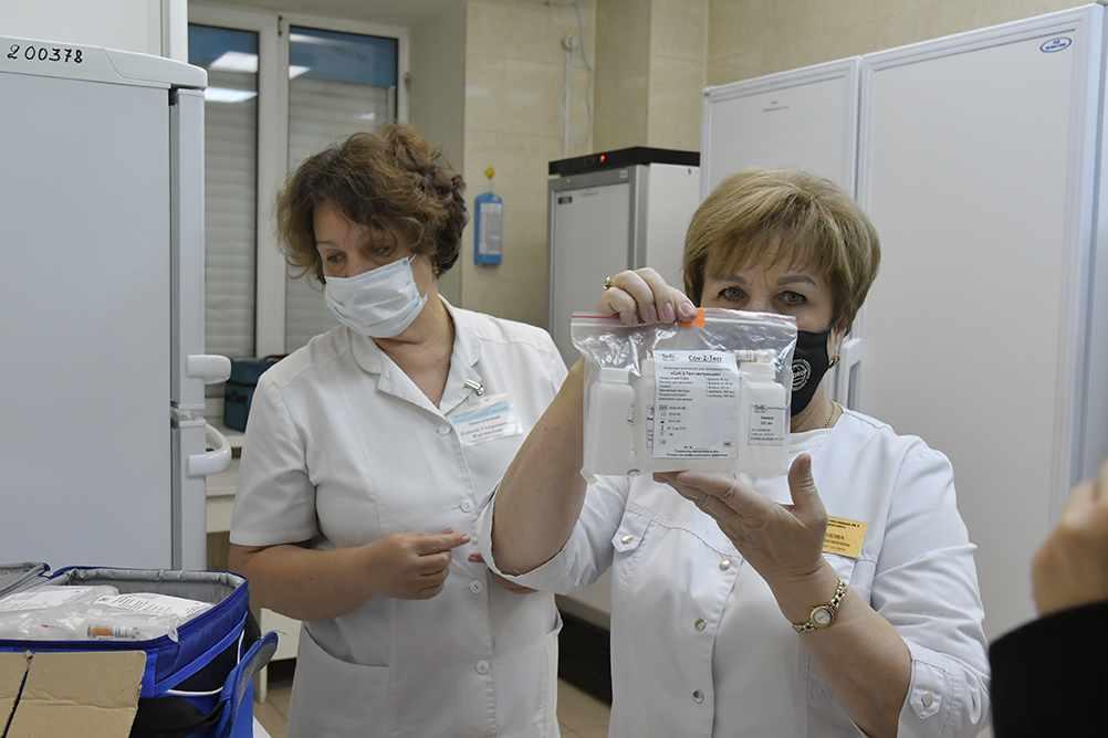 Экспресс-диагностика коронавируса благодаря фонду «Жизнь Абрау-Дюрсо» стала доступнее
