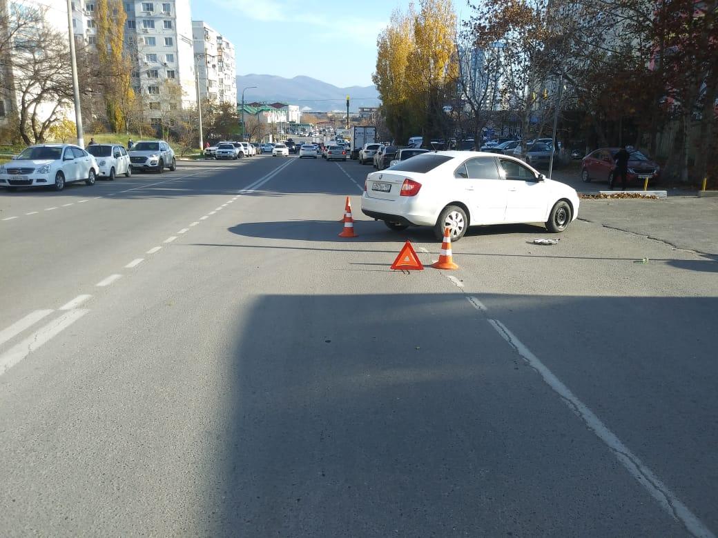 В Новороссийске сбили велосипедиста