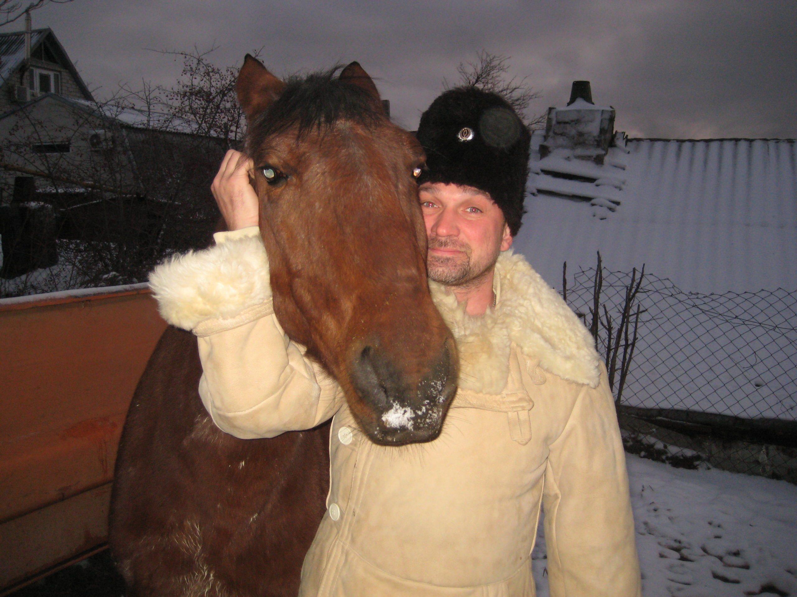 Чтобы стать счастливым, спасатель из Новороссийска… купил лошадь