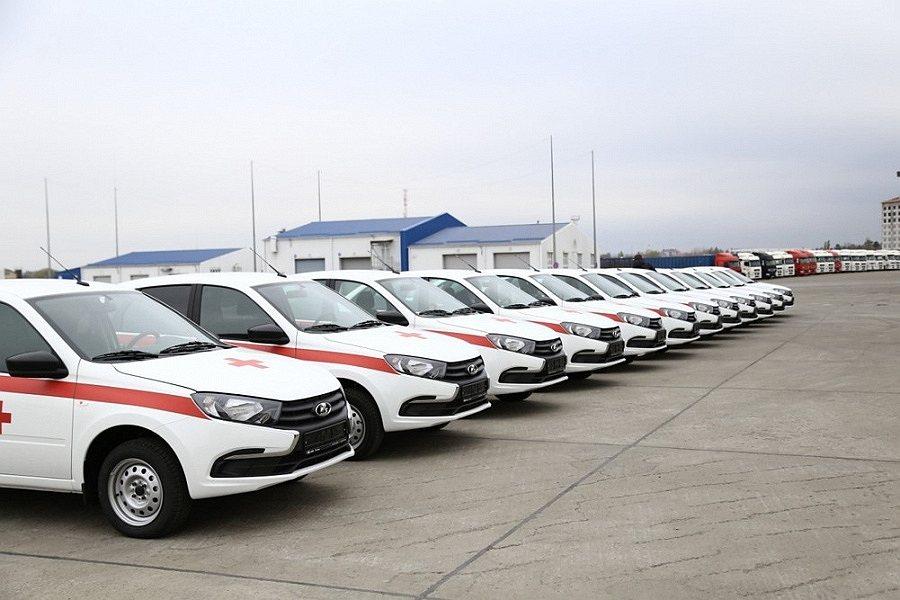 В Краснодарском крае врачи получат 90 новых автомобилей для выезда на дом к больным