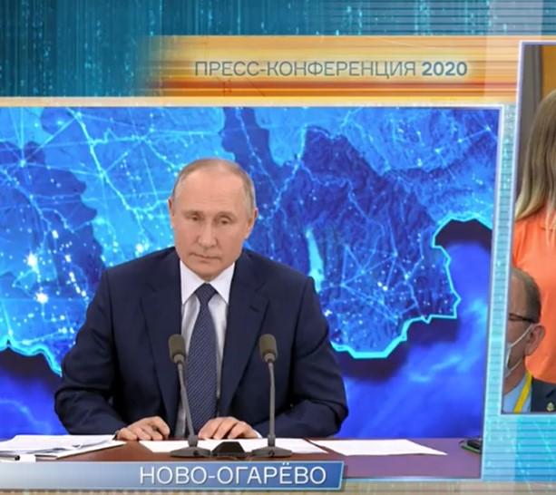 «Я беременна!» — заявила журналистка на пресс-конференции с Владимиром Путиным