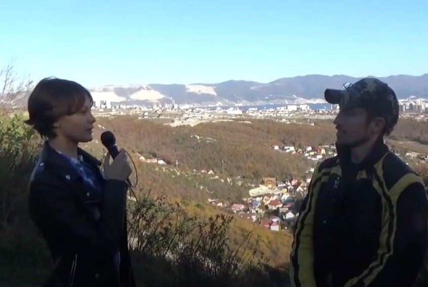В Новороссийске  юные тележурналисты ДТ «Стриж» отметили День гор