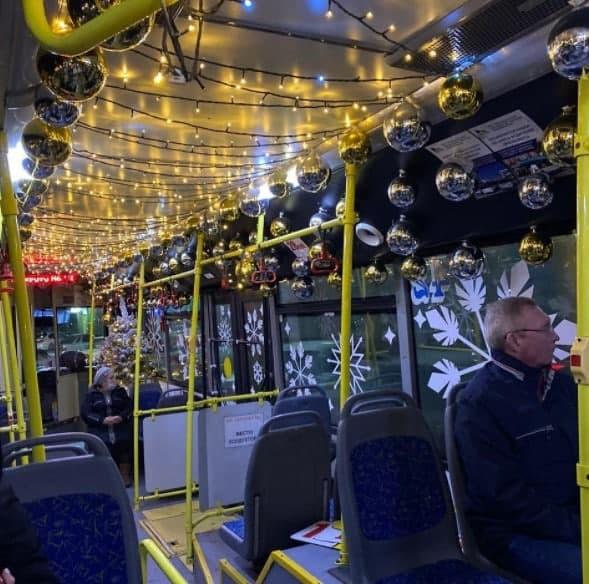 В праздники можно покататься на троллейбусах