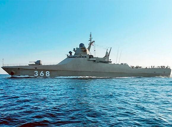 В Новороссийск из арктического похода вернулся военный корабль
