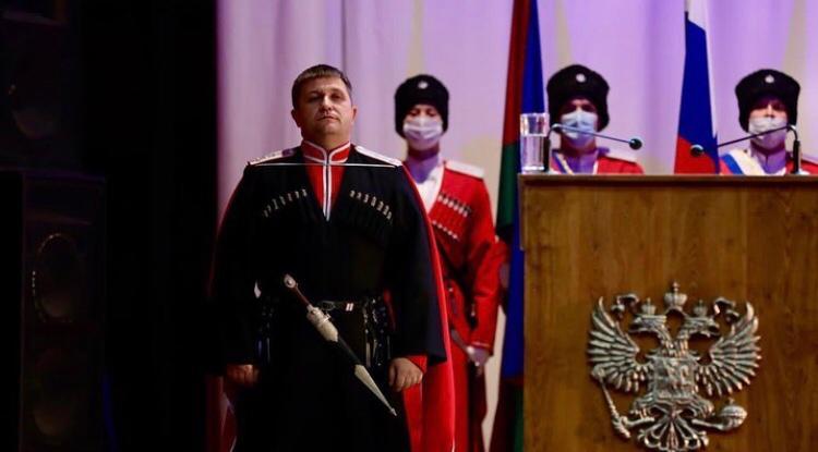 Александр Власов стал новым атаманом Кубанского казачьего войска