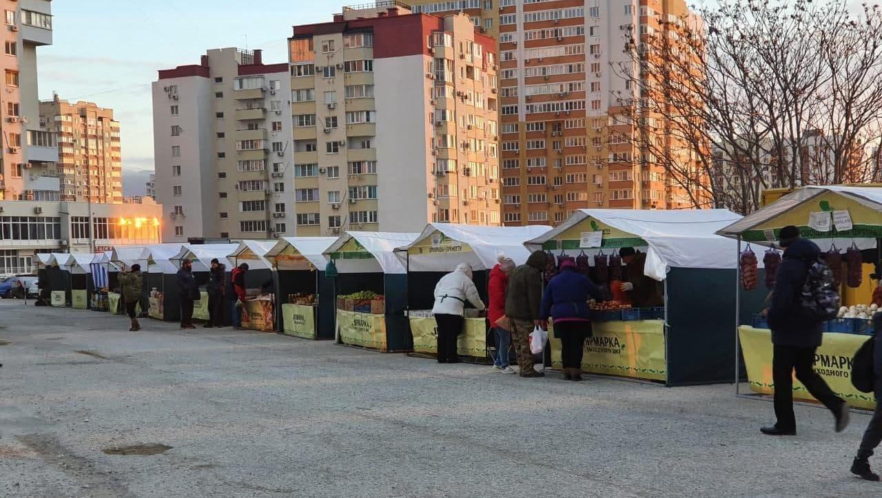 В Южном районе Новороссийска открылась новая сельхозярмарка