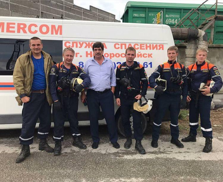 Новороссийские спасатели отмечают профессиональный праздник