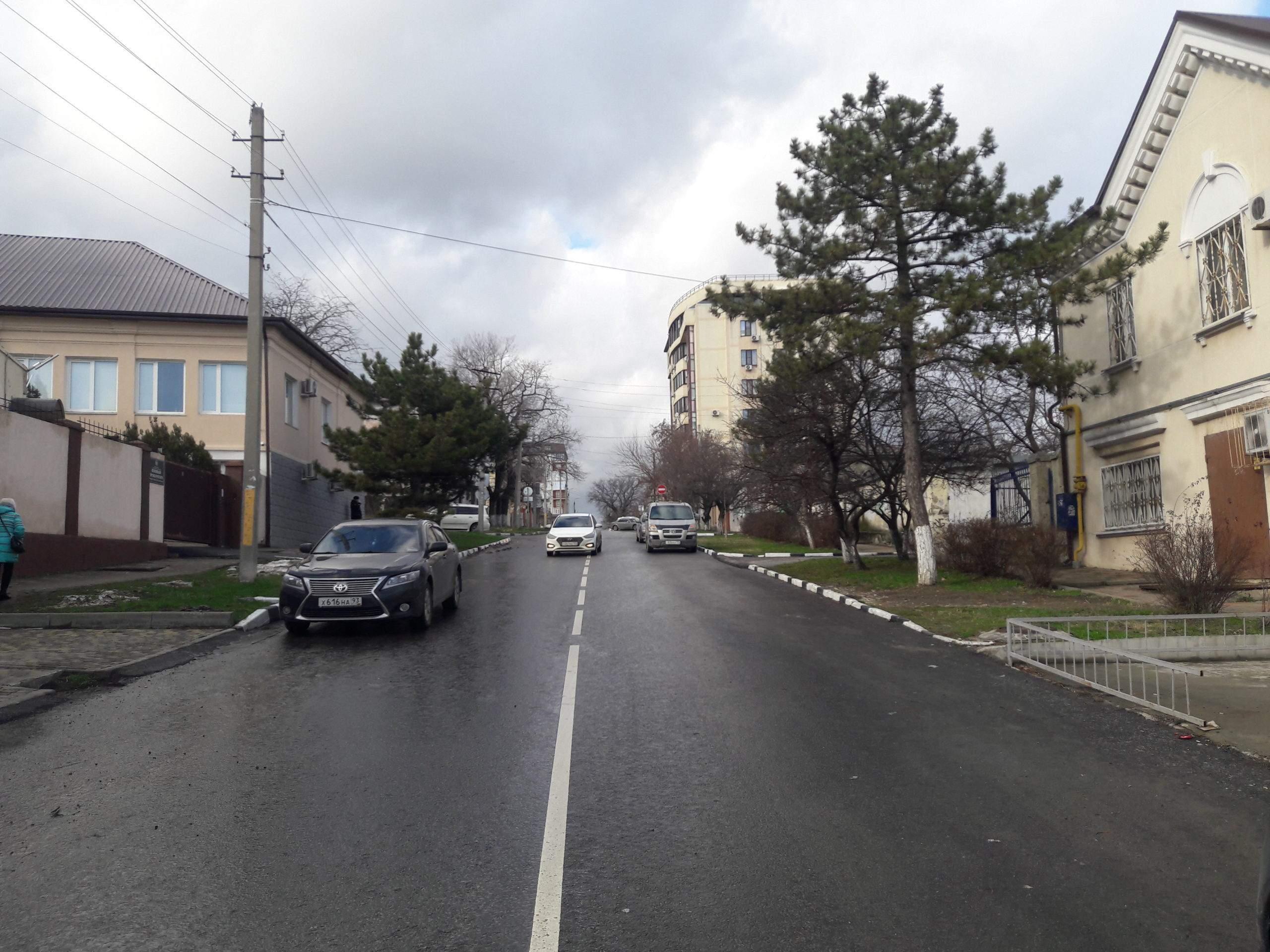 В Новороссийске сданы в эксплуатацию три улицы