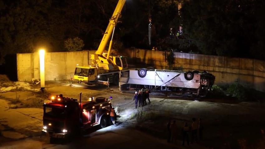 Водителя автобуса, слетевшего в обрыв под Новороссийском, приговорили к 11,5 годам лишения свободы