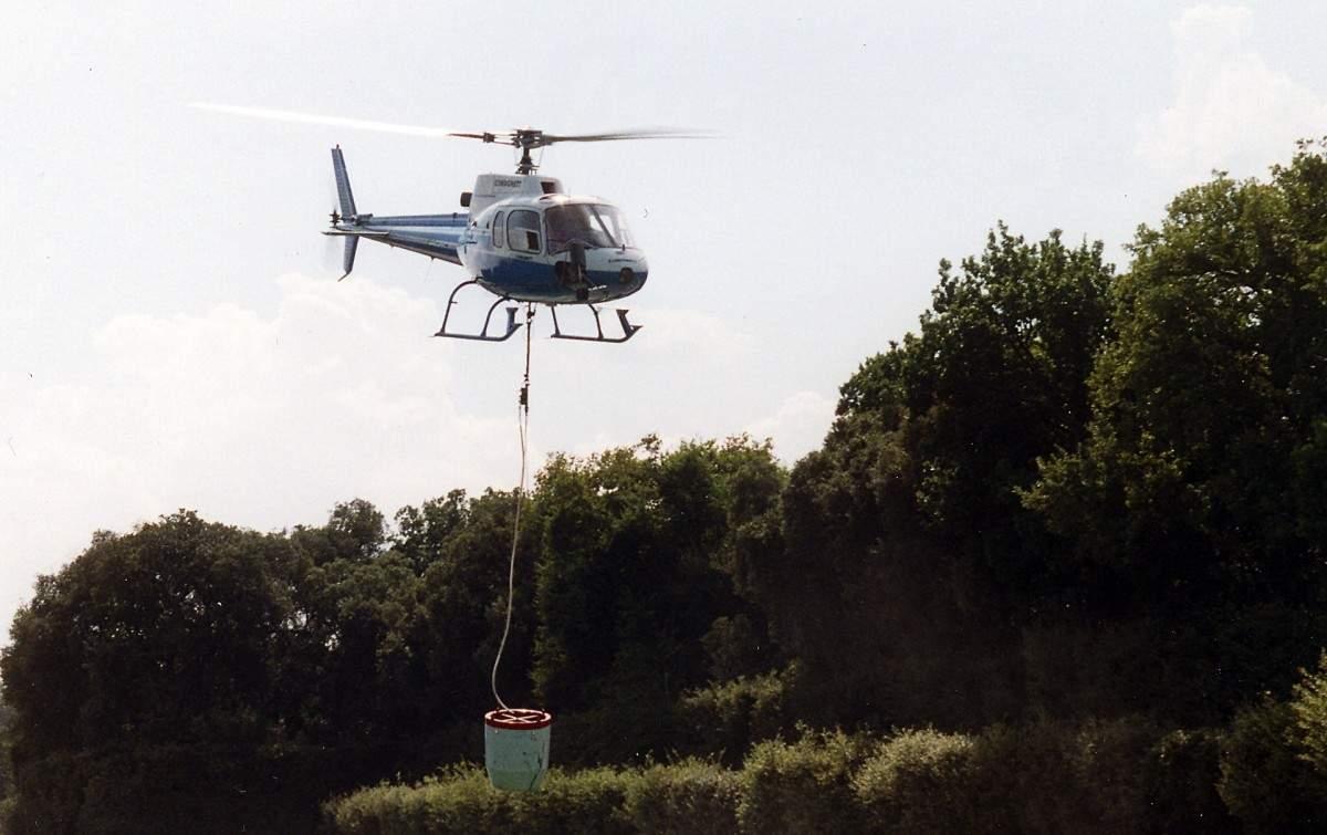 На территории Краснодарского края четвертые сутки тушат лесные пожары