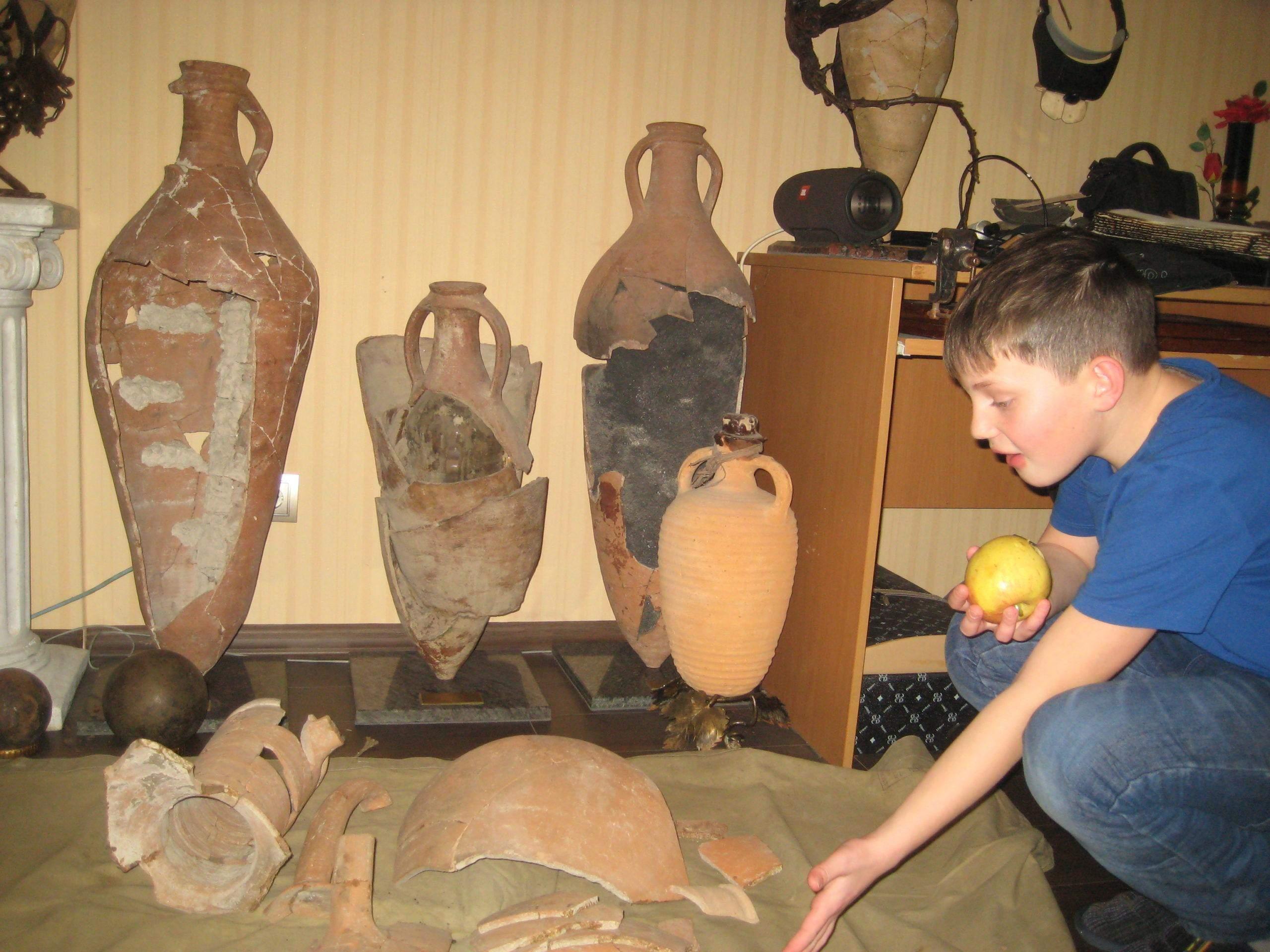 У новороссийца в доме – свой музей с уникальными историческими артефактами