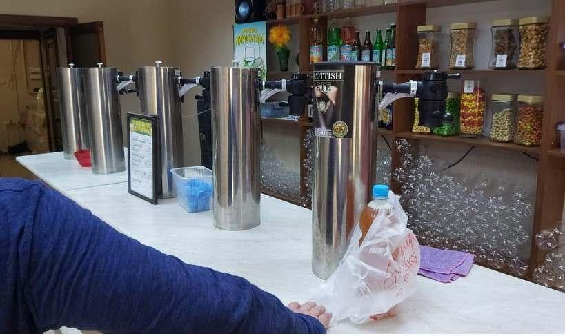В Новороссийске изъяли более 300 литров пива, которым торговали незаконно