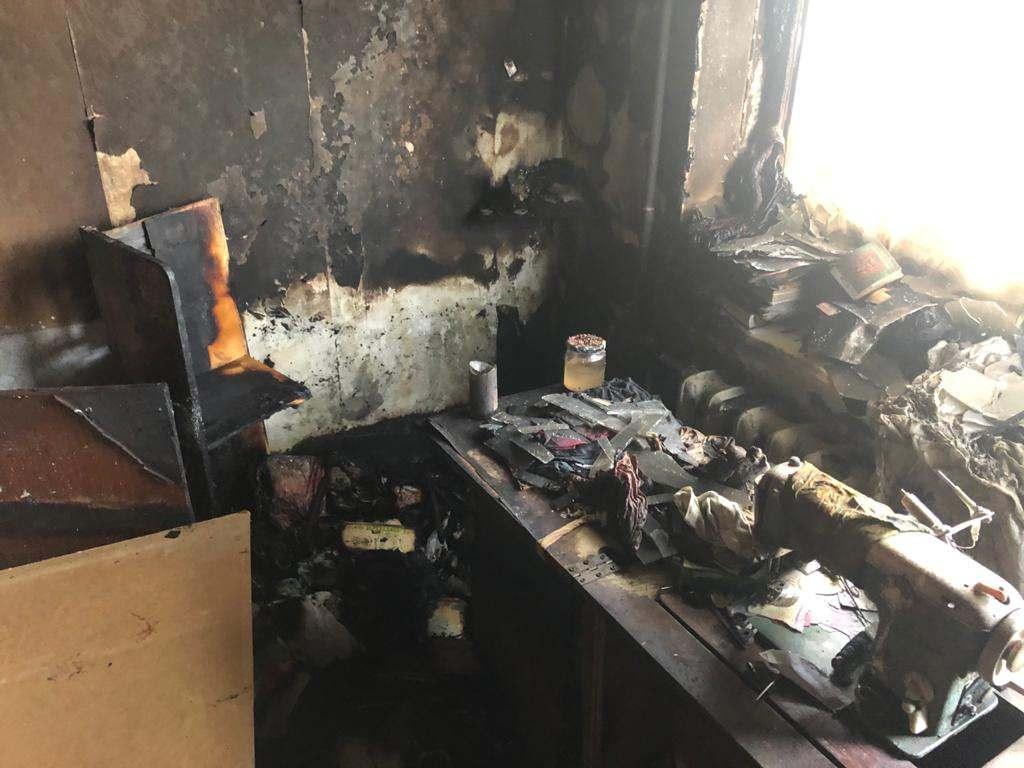 В Новороссийске из-за церковной свечи загорелась квартира