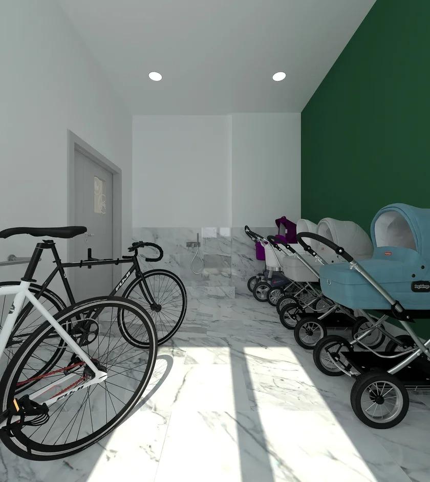 С 1 января запрещено хранить коляски и велосипеды в подъездах!