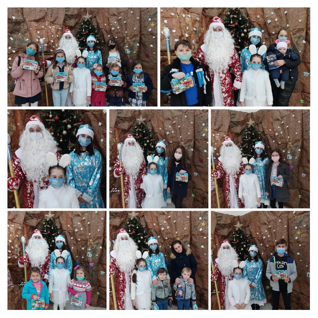 Новороссийские гимназисты порадовали новогодними подарками детей из Сирии