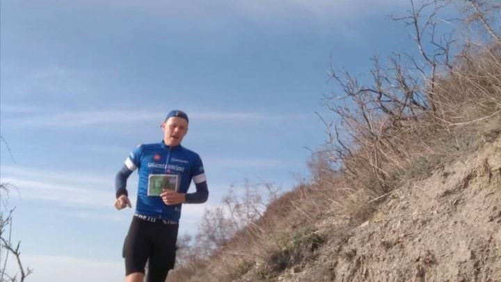 Полицейские из Новороссийска пробежали 15-километровый марафон