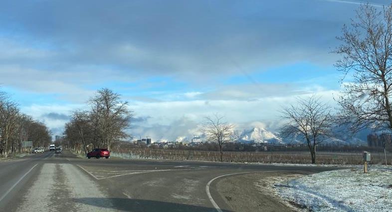 В Новороссийск в выходные пожалует настоящая зима: норд-ост и снег