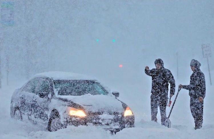 В МЧС рассказали на какие города и районы, помимо Новороссийска, обрушится снегопад