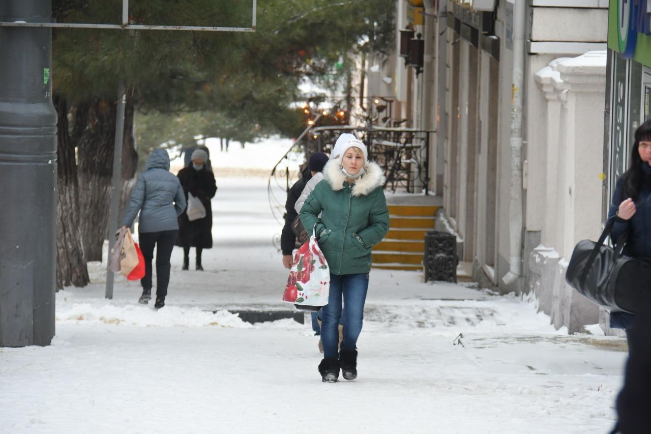 В Новороссийске зима простоит до четверга
