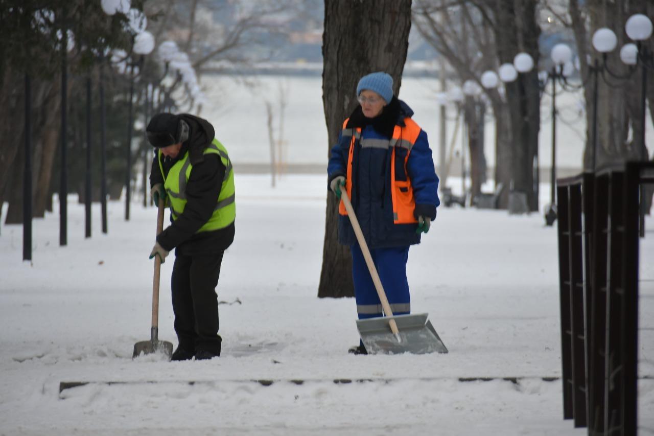 На Новороссийск надвигается снежный апокалипсис