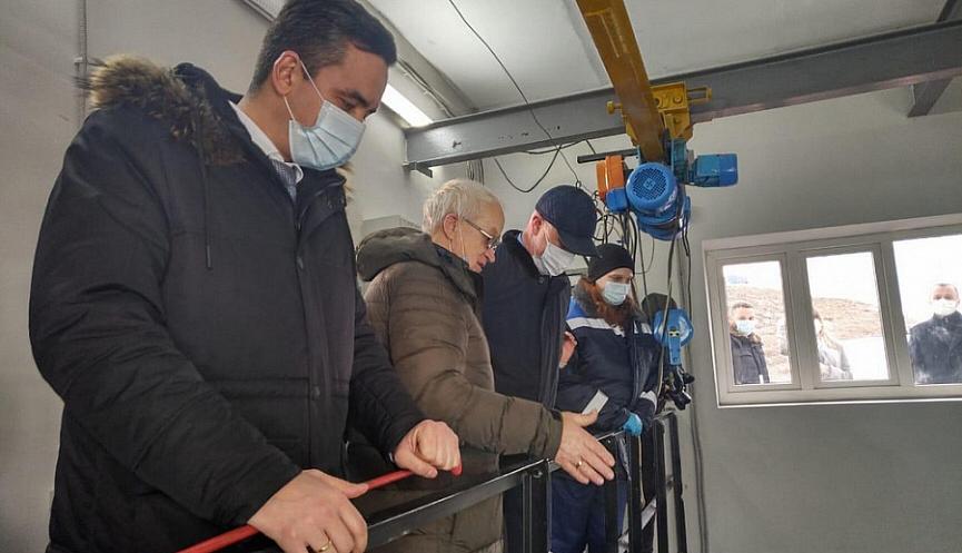 В Новороссийске открыли после реконструкции водонасосную станцию на Вербовой балке