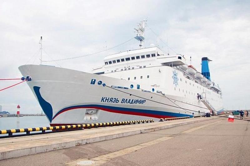 Теплоход «Князь Владимир» летом возобновит морские перевозки