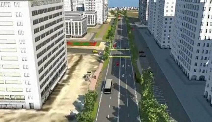 В Новороссийске вдоль улицы Мурата Ахеджака построят четырехполосную дорогу