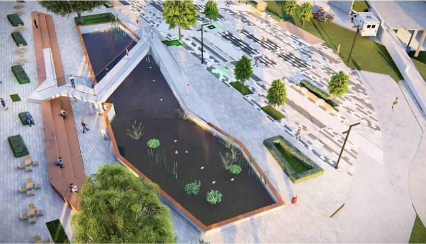 В Новороссийске начнут реконструкцию парка имени Фрунзе