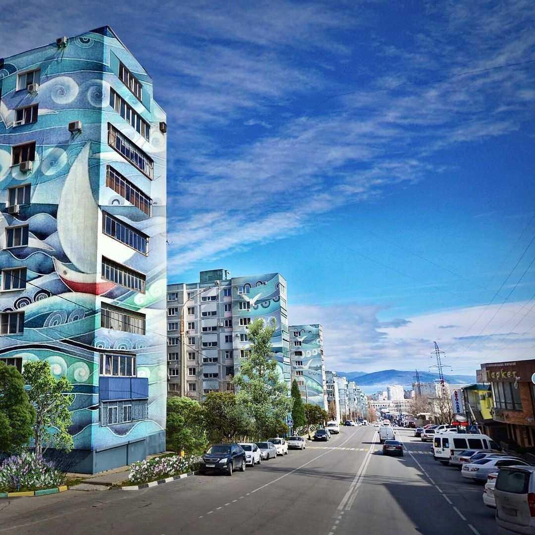 В Новороссийске готовят предложения по оформлению домов художественными граффити
