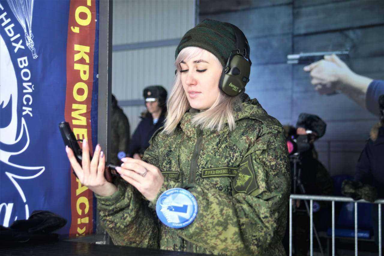 Десантница из Новороссийска борется за корону «Красы ВДВ – 2021»