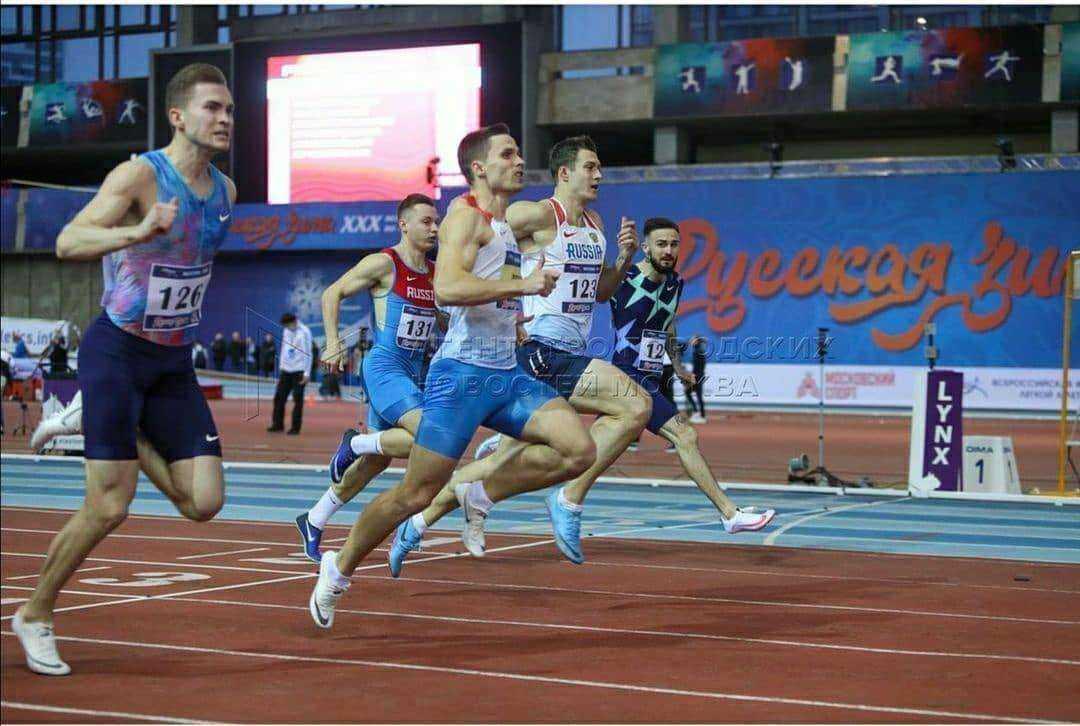 Новороссийский спортсмен победил в крупнейших легкоатлетических соревнованиях России