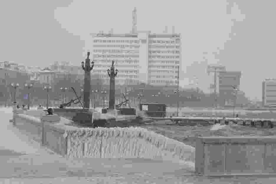 Синоптики прогнозируют в Новороссийске резкое снижение температуры и усиление ветра