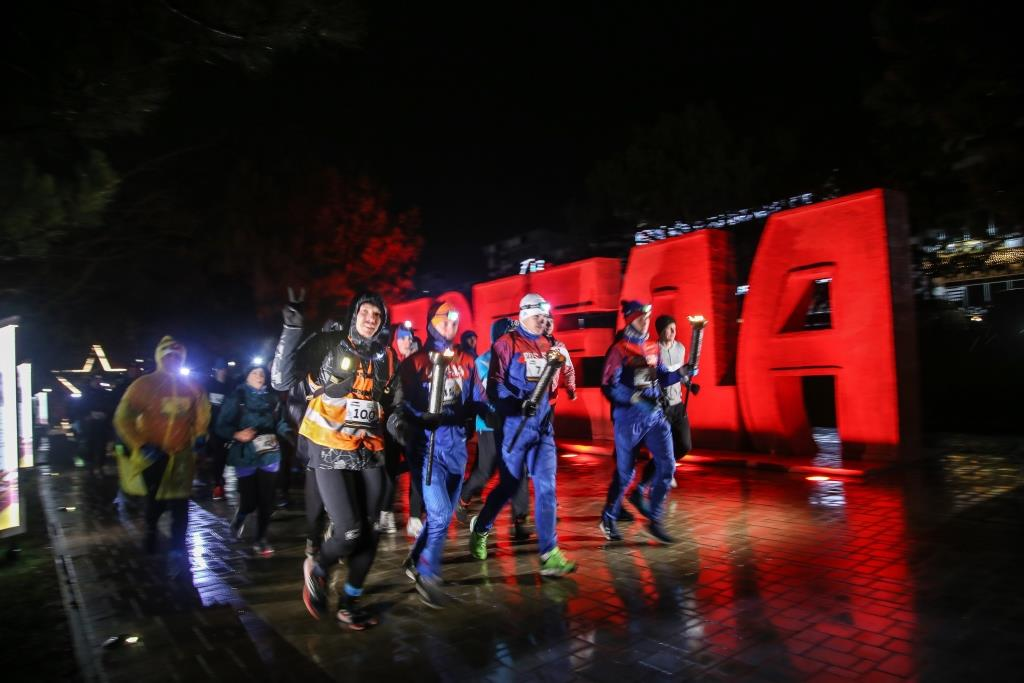 В Новороссийске прошел ночной полумарафон