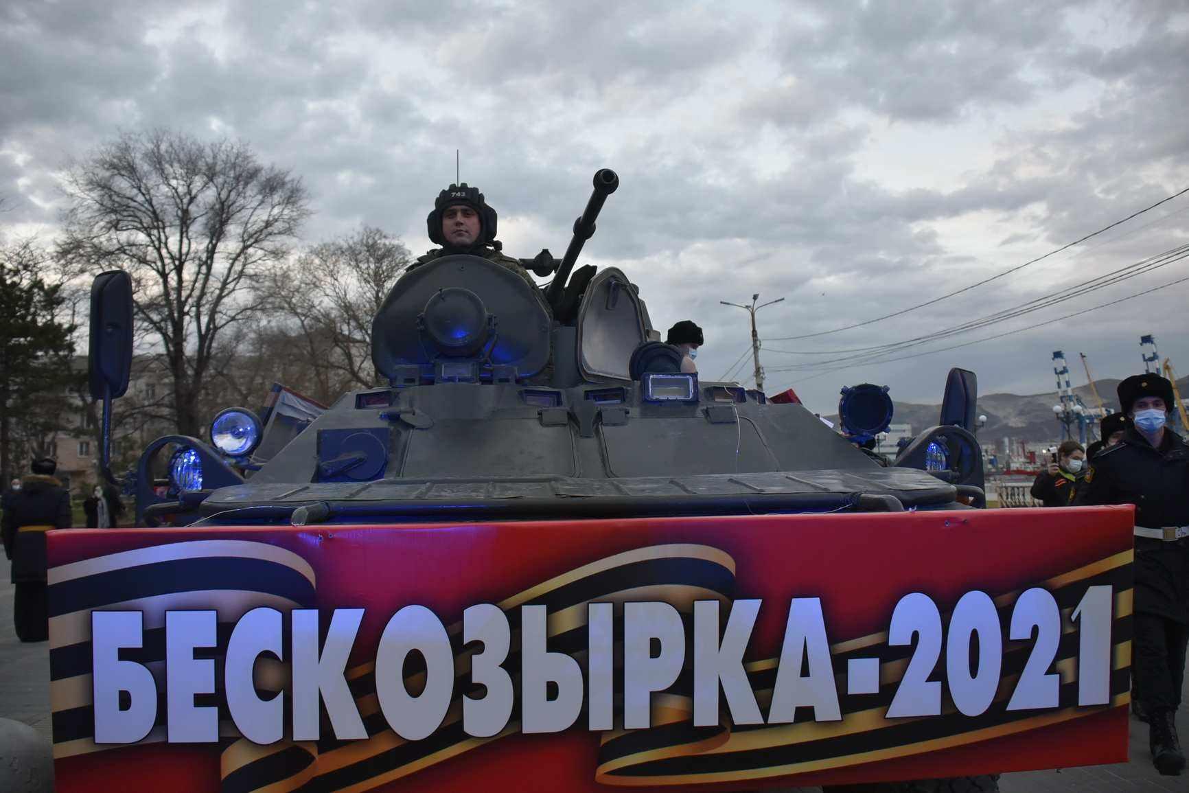 Священная традиция Новороссийска: бескозырку опустили на воду