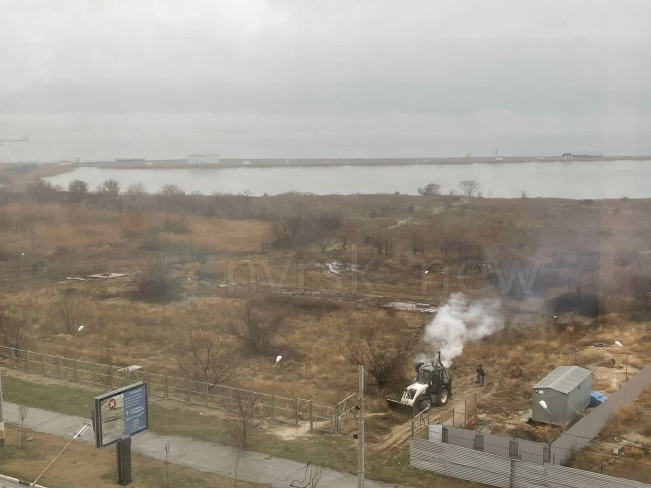 В Новороссийске жители остановили строительные работы на Прилагунье