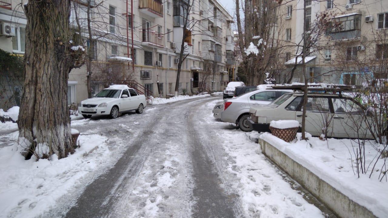 В Новороссийске за зиму второй раз зима