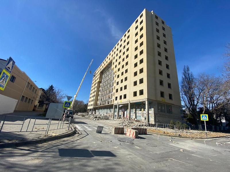 В Анапе снесут многоквартирный дом, построенный с нарушениями