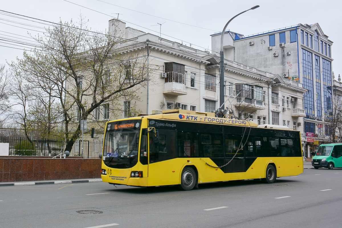 В Новороссийске необходимо менять контактную сеть для троллейбусов