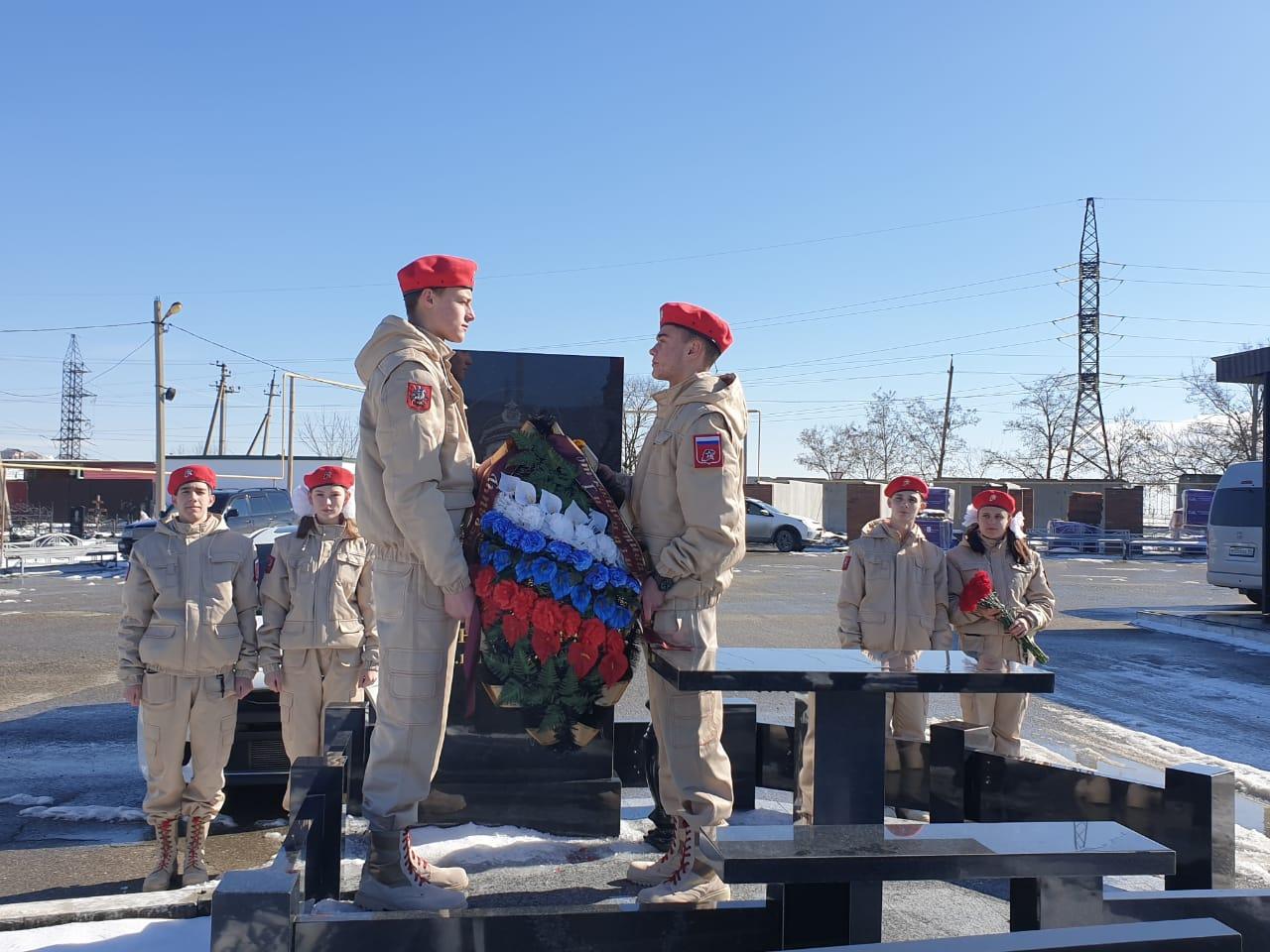 В Новороссийске хранят память об основателе Поста №1 Виталии Лесике