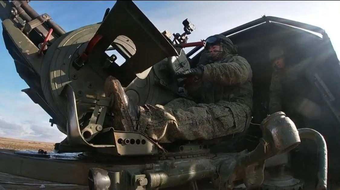 В Крыму прошли учения по прикрытию бойцов Новороссийского десантно-штурмового горного соединения