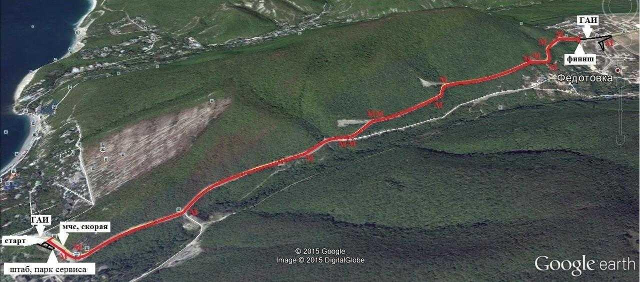 В Новороссийске сегодня пойдёт I этап Кубка Новороссийска по Ралли-Cпринт PRO «Широкая балка»