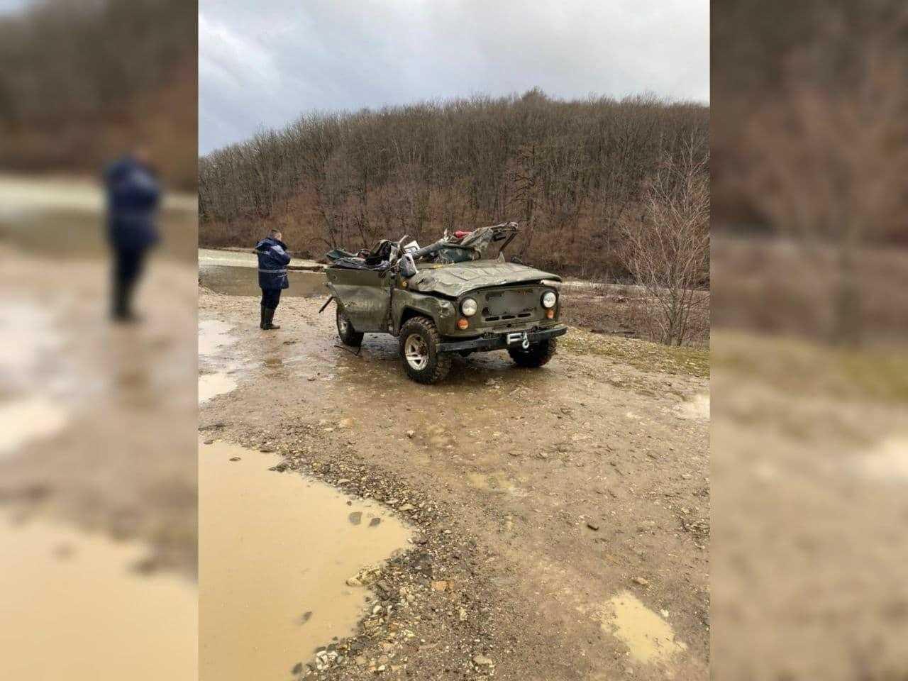 На Кубани произошла страшная трагедия: во время переправы через реку погибла семья из трёх человек