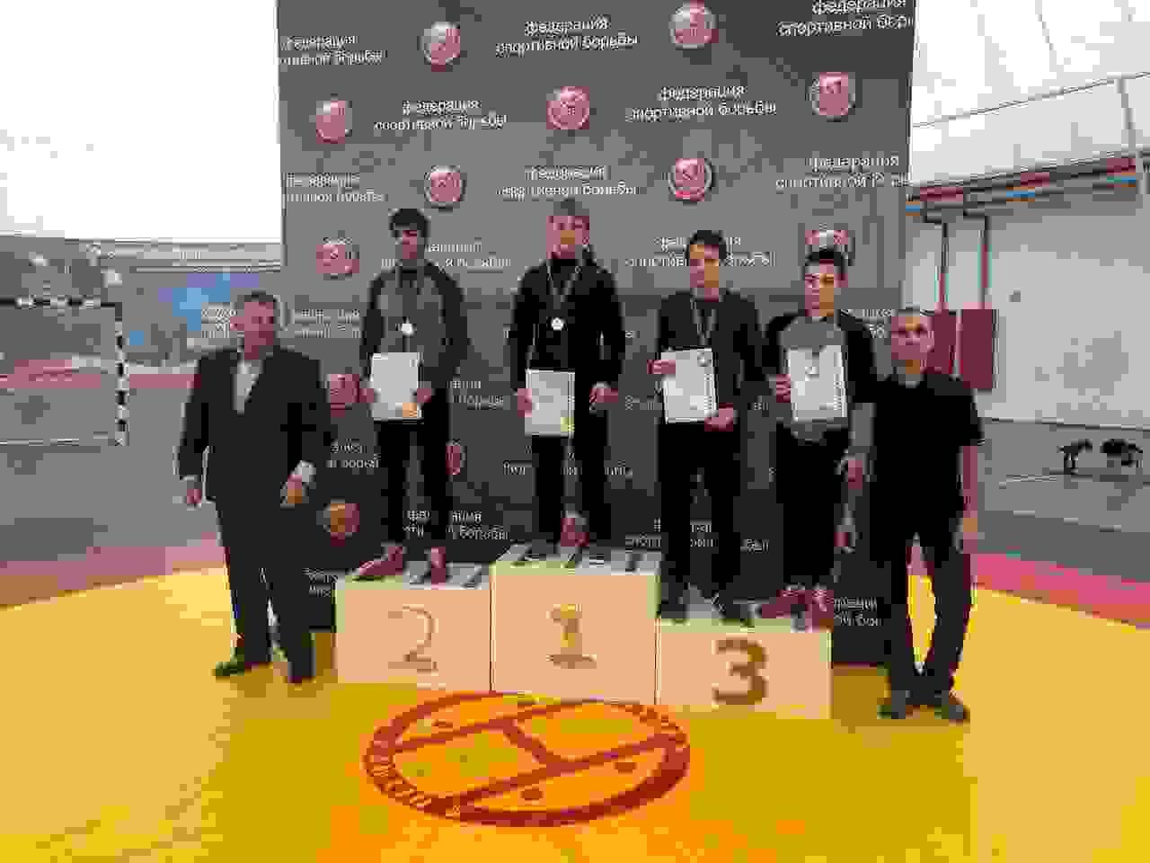 Новороссиец взял серебро России по греко-римской борьбе