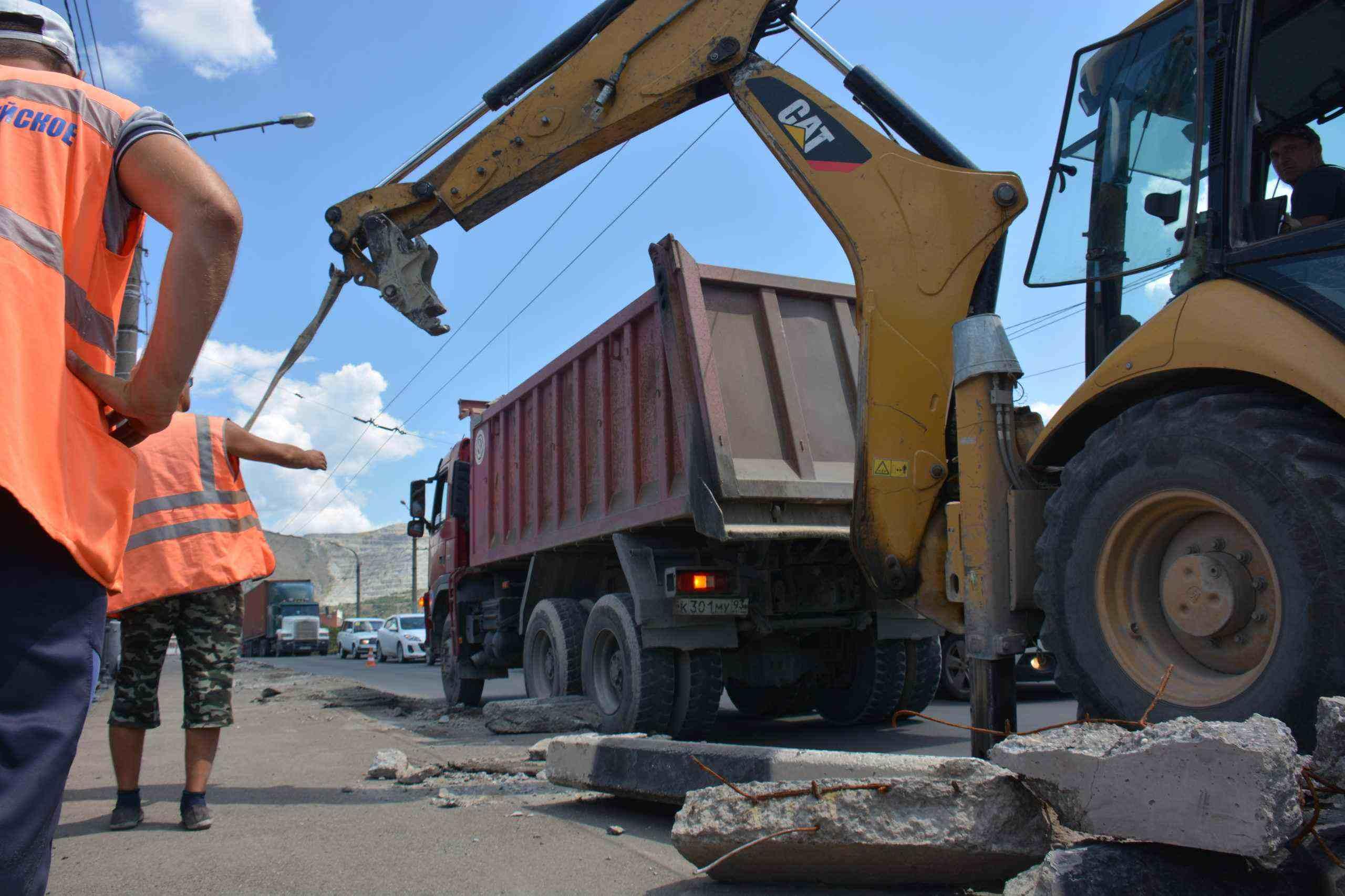 На дорогу Цемдолина — Портовая в Новороссийске денег пока нет
