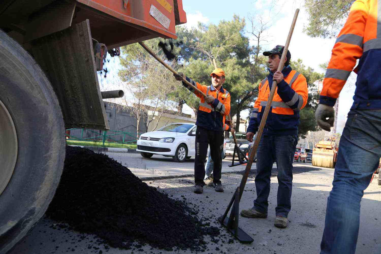 В Новороссийске ремонт дорог выполнен почти на 50 процентов