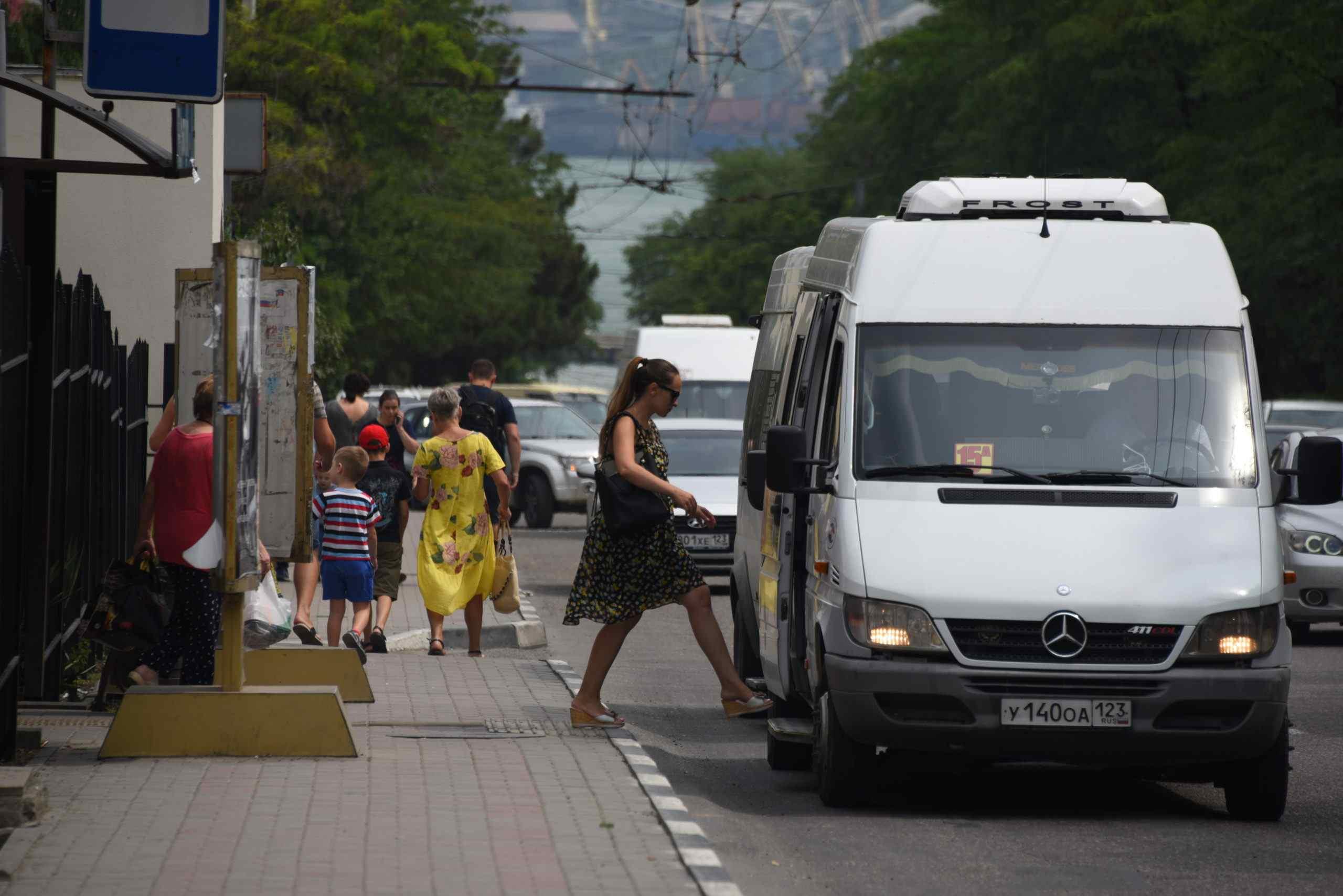 Новороссийским пассажирам надоело возиться с мелочью