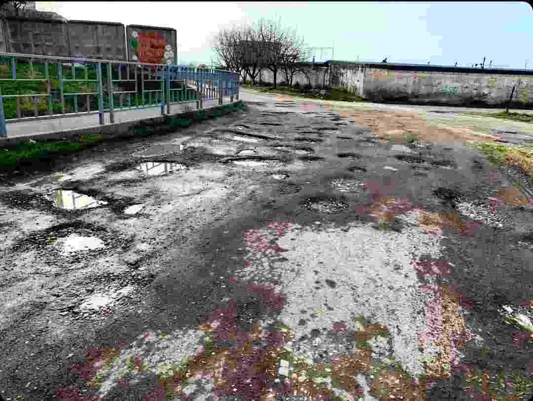 С одной из улиц Новороссийска исчезнет «лунный пейзаж»