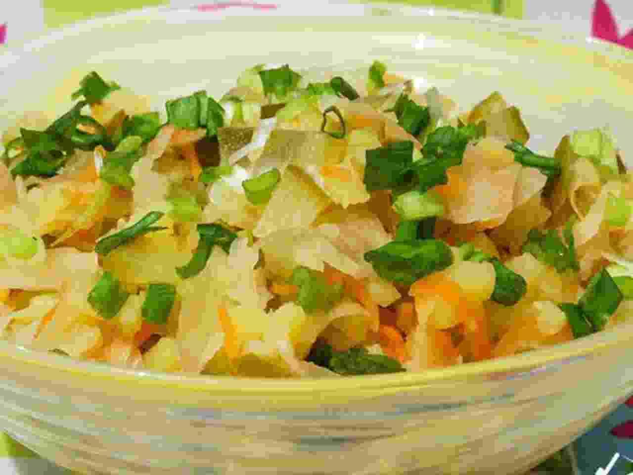 Рецепт дня. Картофельный салат «Минутное дело»