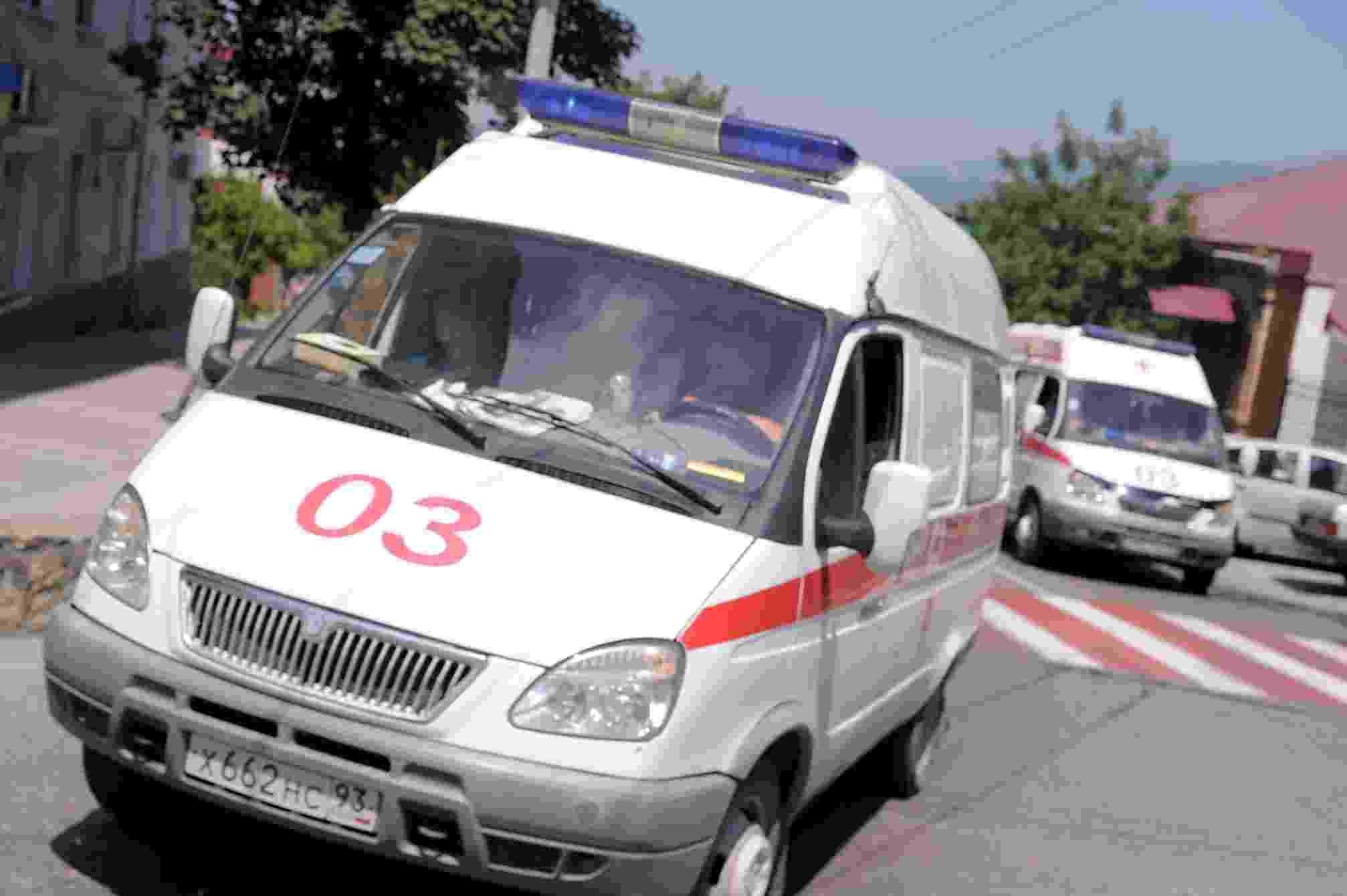 Участника ДТП в Новороссийске пришлось срочно госпитализировать